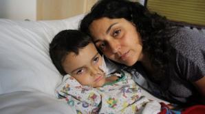 ALERTA INTERPOL in 190 de tari. Un baietel de 6 ani, GRAV BOLNAV, furat de parinti din spital