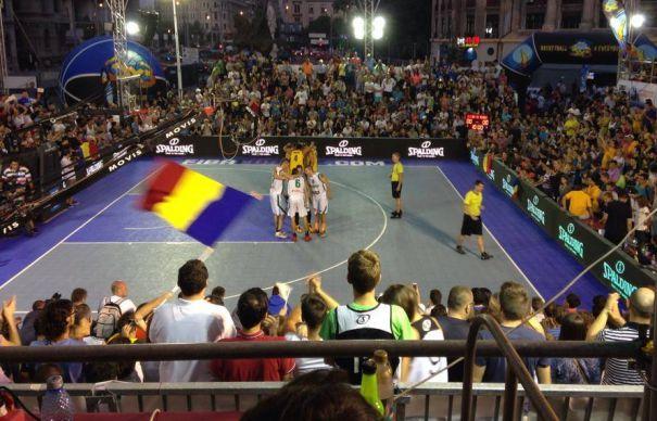 Baschet: Echipa masculina a Romaniei a castigat Campionatul European 3x3 de la Bucuresti