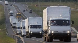 Rusia FORTEAZA: trimite un nou convoi umanitar in Ucraina