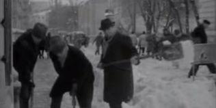 FOTO VIDEO Iernile istorice traite in Bucuresti. Cum a ramas Capitala incrustata in gheata in anul 1954