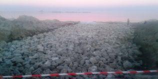 FOTO Santierul de pe plaja Mamaia: litoralul va fi latit cu pana la 100 de metri