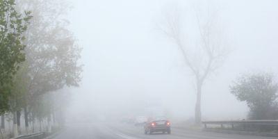 METEO Cod galben de ceata emis pentru judetul Dolj. In unele zone, vizibilitate va scadea sub 50 de metri