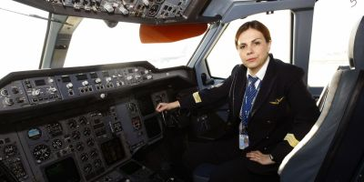 Mihaela Rosu Moldoveanu, pilot TAROM: