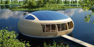 FOTOGALERIE Casa plutitoare ecologica, WaterNest 100