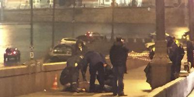 VIDEO Presa rusa a difuzat imagini video cu asasinatul lui Boris Nemtov