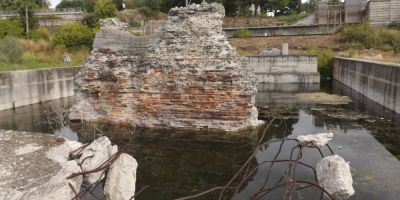VIDEO Cum au reusit romanii sa ingroape definitiv podul de peste Dunare al lui Traian. Constructia grandioasa e mina de aur, insa doar pentru sarbi