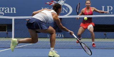 LIVETEXT Simona Halep la US Open: romanca a fost spulberata in primul set dupa o prestatie catastrofala