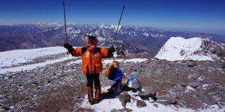 Un nou record mondial pentru Dor Geta Popescu, alpinista-fenomen de doar 12 ani