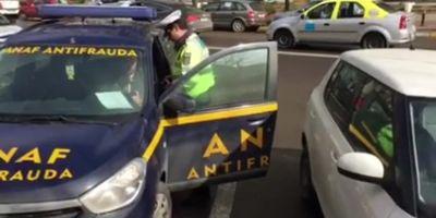 Inspectori ANAF, amendati de Politia Locala Targoviste pentru parcare pe locurile rezervate persoanelor cu handicap