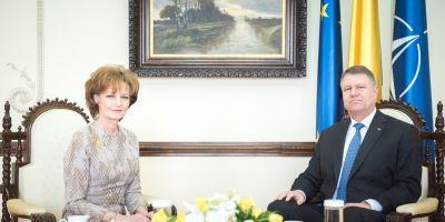 Principesa Margareta s-a intalnit cu Klaus Iohannis. Mesajul presedintelui pentru Regele Mihai