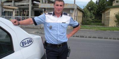 Politistul Marian Godina, amendat pentru ca a depasit viteza legala