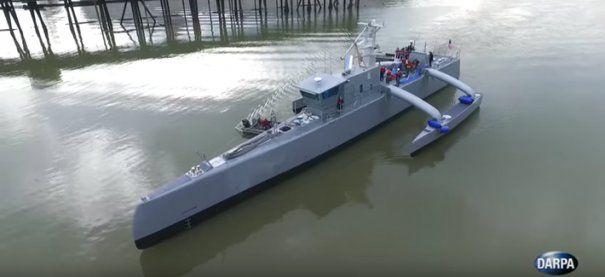 Robotii marilor: Pentagonul lanseaza prima Drona Oceanica, un