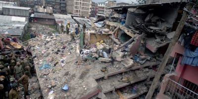 Cel putin 14 oameni au murit dupa ce mai multe constructii s-au prabusit din cauza ploii in Kenya