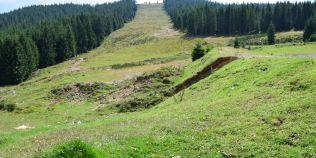 Partia de schi abandonata din Apuseni pentru care s-a defrisat un munte si s-au cheltuit 1,5 milioane de lei