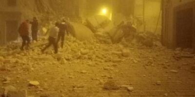UPDATE Doua cutremure au lovit centrul Italiei in interval de ora. Cel putin doua persoane au fost ranite, mai multe cladiri s-au prabusit