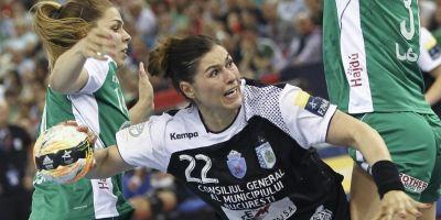 Infrangere dureroasa pentru CSM Bucuresti in meciul cu Gyor din Liga Campionilor la handbal feminin