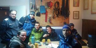 Trei turisti germani s-au ratacit in Muntii Bucegi. Au fost recuperati de jandarmii montani si de salvamontisti