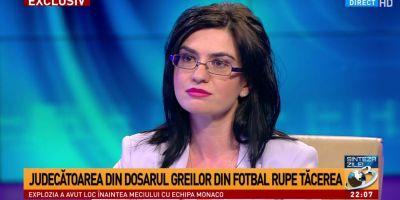 Judecatoarea care a recunoscut spaga de 195.000 de euro: