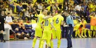 Final nebun de meci in Romania-Finlanda la futsal. Tricolorii au marcat de doua ori in ultimele patru secunde