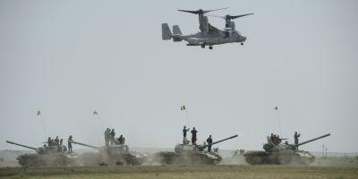 La ce foloseste exercitiul NATO care s-a desfasurat la Cincu?