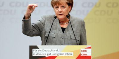 Angela Merkel se lanseaza in campania electorala pentru alegerile legislative, ce se anunta a fi