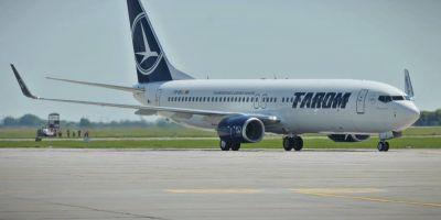 Un avion al companiei Tarom a suferit o avarie la aterizare pe Aeroportul din Timisoara