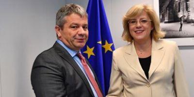 Bodog, la Bruxelles, pentru promovarea candidaturii Romaniei pentru relocarea EMA: Suntem pregatiti sa intram intr-un parteneriat pe temen lung