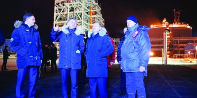 Rusia da drumul la gaze prin gheturile arctice