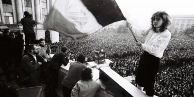 Amintirile tinerei care a fluturat steagul de pe cladirea CC la Revolutie: