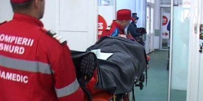 Familie spitalizata dupa o explozie a centralei termice. Copilul sotilor raniti a suferit un atac de panica